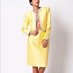 Carolina Herrera 3Sets Vintage Polka Dot Suit